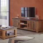 Mueble TV estilo vintage industrial
